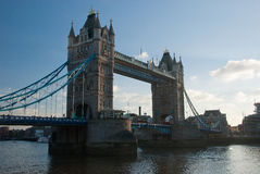 Tower Bridge. In the London Royalty Free Stock Images
