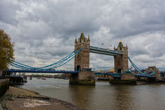 The Tower Bridge. From the Tower oF London Stock Image