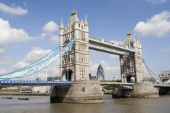 The Tower bridge in London. A victorian landmark Royalty Free Stock Photography