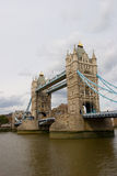 Tower Bridge, London. Tower Bridge crossing the river Thames in London Stock Photos