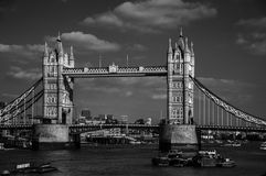 Tower Bridge. London in April Royalty Free Stock Photos