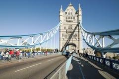 Tower bridge, London. stock photos