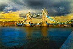 Tower bridge in London Royalty Free Stock Photo