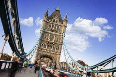 Tower Bridge, London city Stock Photos