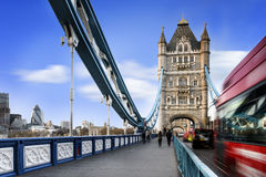 Tower Bridge, London city Stock Photo
