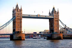 Tower Bridge London England. Image of Tower bridge over the thames river in London England stock photo