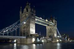 The Tower Bridge in London England Royalty Free Stock Photography