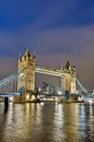 Tower Bridge at London, England Royalty Free Stock Photos