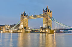 Tower Bridge at London, England Stock Photography