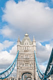 Tower Bridge at London, England. Tower Bridge across Thames river at London, England Royalty Free Stock Photo