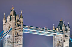 Tower Bridge at London, England Stock Photo