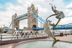Tower Bridge in London. England Stock Photos
