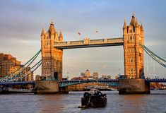Tower Bridge in London, England Royalty Free Stock Image