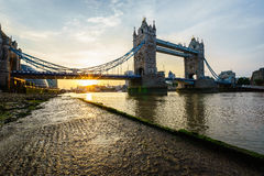 Tower Bridge in London, England Stock Photos