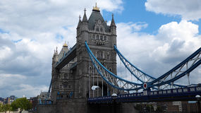 Tower Bridge. In London, England, from the south Stock Images