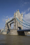 Tower Bridge, London, England. Tower Bridge from the south bank, London, England Stock Photo