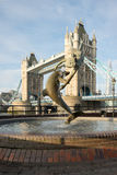 Tower Bridge, London, England Royalty Free Stock Photography
