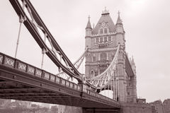 Tower Bridge in London, England, UK Royalty Free Stock Images
