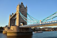 Tower Bridge, London, England, UK, Europe Royalty Free Stock Photography
