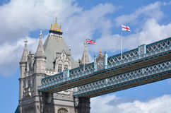 Tower Bridge in London - England UK Royalty Free Stock Images
