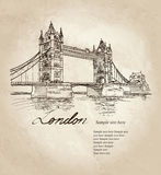 Tower Bridge, London, England, UK. Royalty Free Stock Photo