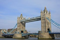 Tower Bridge in London England UK Royalty Free Stock Image