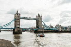 Tower bridge in London, England Royalty Free Stock Photos