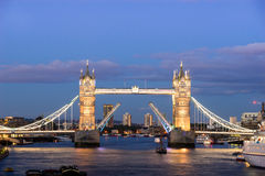 Tower Bridge, London, England Stock Images