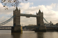 Tower Bridge in London. Famous Tower Bridge in London, England Royalty Free Stock Photos