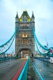 Tower bridge in London, Great Britain Stock Photos