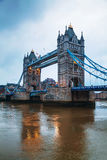 Tower bridge in London, Great Britain Royalty Free Stock Image