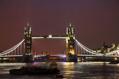 Tower bridge in London, Great Britain Royalty Free Stock Photo