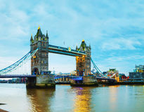 Tower bridge in London, Great Britain Stock Image
