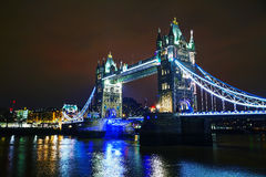 Tower bridge in London, Great Britain Stock Images