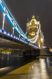 The Tower Bridge in London Stock Photo