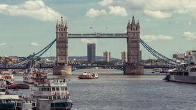 Tower Bridge London. LONDON - 15 JUNE 2015: Tower Bridge London Stock Photos