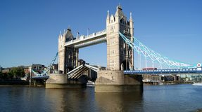 Tower Bridge, London. Tower Bridge located in London Royalty Free Stock Photos