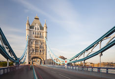 Tower Bridge in London long exposure Stock Photography
