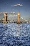 Tower Bridge in London a major tourist attraction Stock Photography