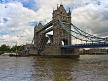 Tower bridge london and river thames Royalty Free Stock Photography