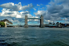 Tower Bridge in London. Stock Images