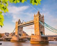 Tower bridge in London Royalty Free Stock Photo