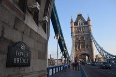 Tower Bridge. During london summer Royalty Free Stock Photo