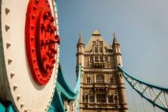 Tower Bridge London. Tower bridge of London in the summer Stock Images