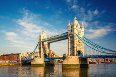 Tower bridge in London Royalty Free Stock Photography