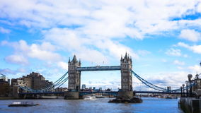 Tower Bridge of london Time-Lapse stock video footage
