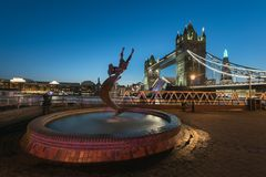 Tower Bridge - London stock images