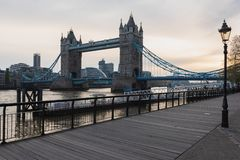 Tower Bridge - London royalty free stock photos