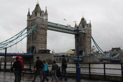 The Tower Bridge of London stock image