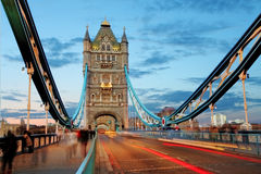 Tower bridge - London royalty free stock photography